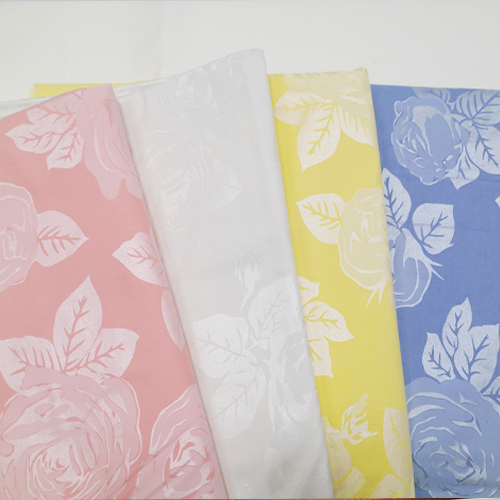 Silver Pigment Printing Downproof Fabric