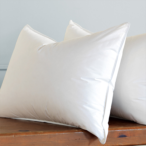 White Duck Feather & Down Pillow